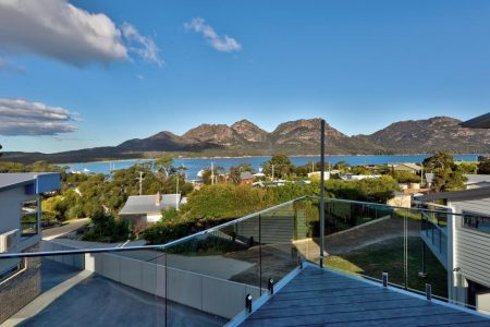 deja blu 2 view ⋆ Freycinet Rentals - Coles Bay Accommodation Tasmania