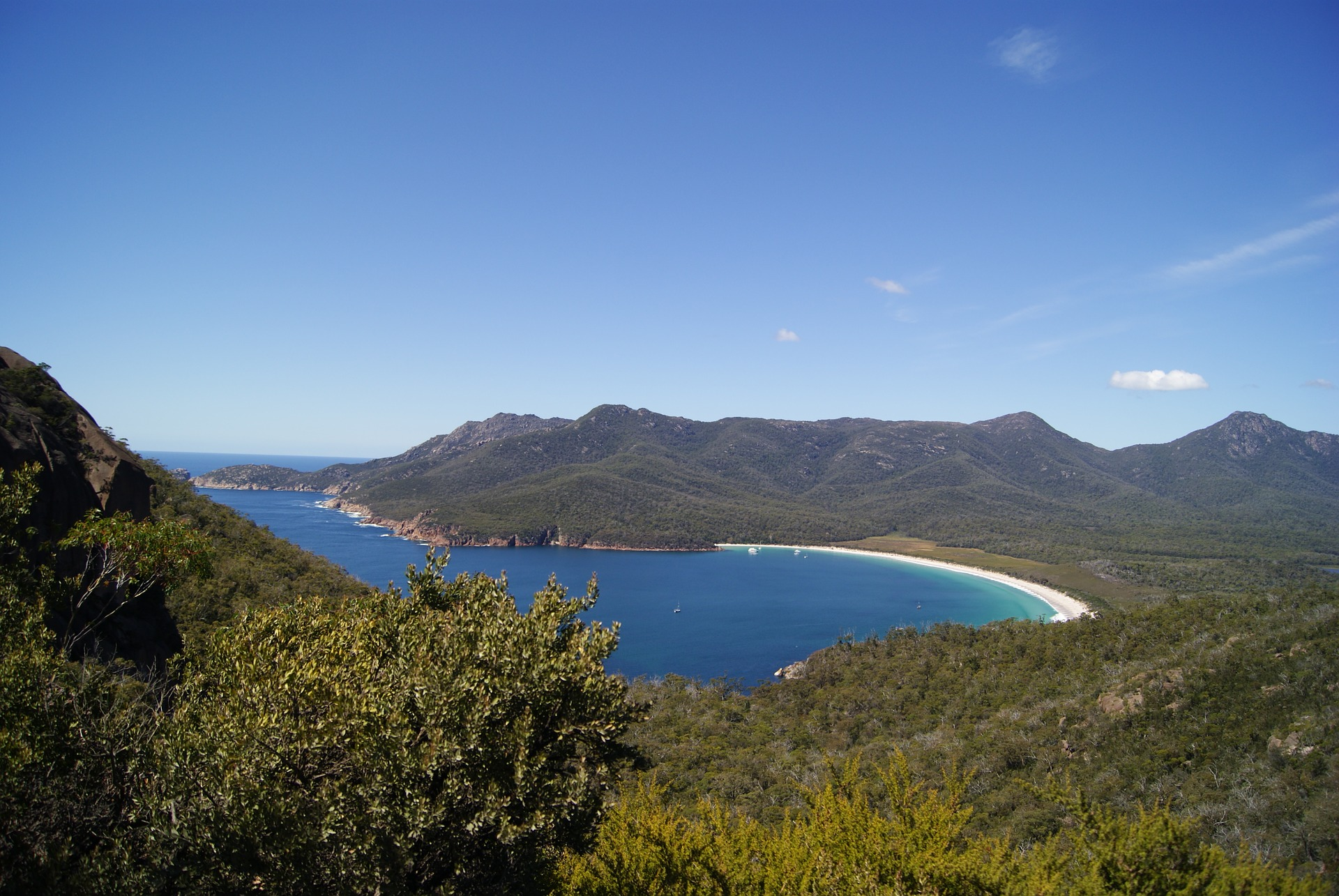 Wineglass Bay Freycinet Tasmania